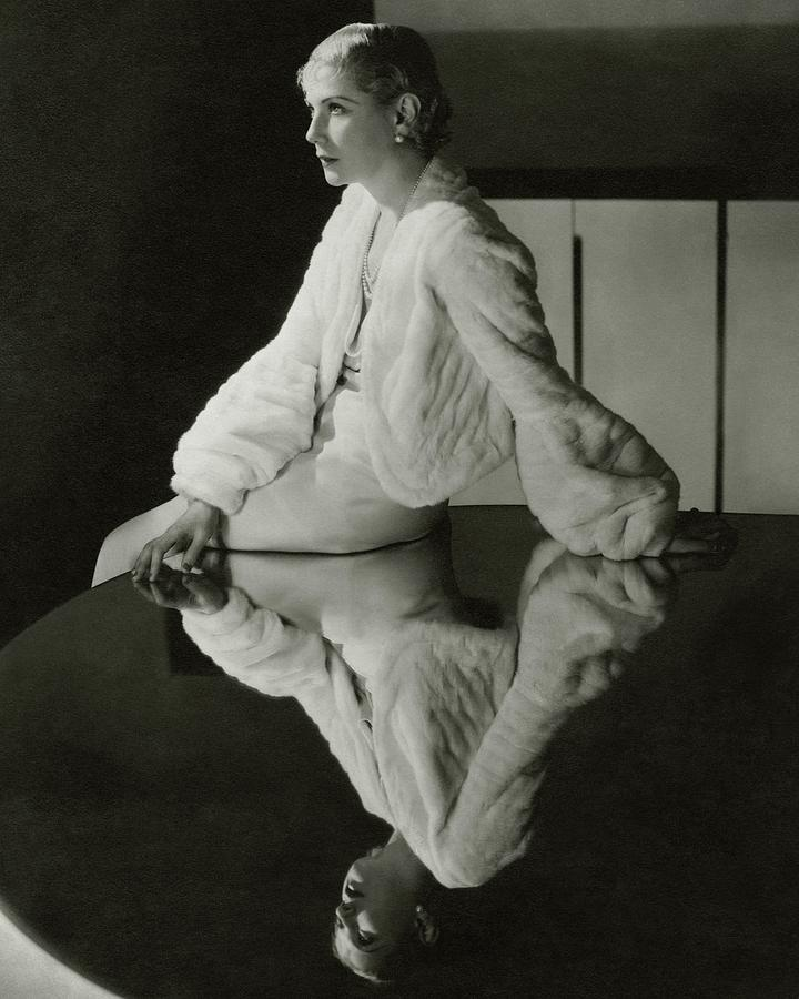 Lilyan Tashman Wearing A Bolero Photograph by Cecil Beaton