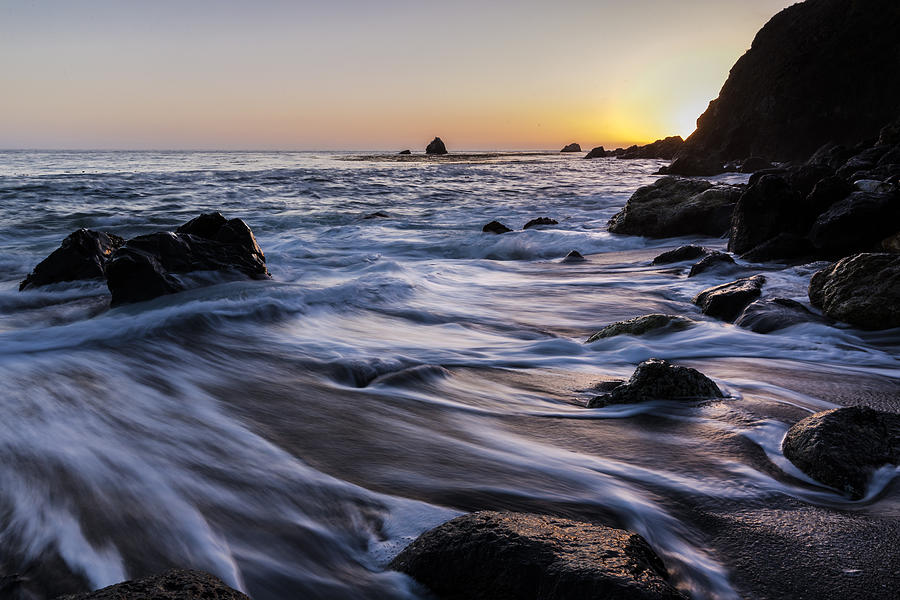 Coast Photograph - Limekiln Coastline by Bryan Toro