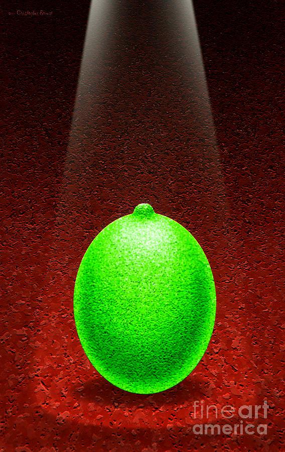 Lime Digital Art - Limelight by Cristophers Dream Artistry