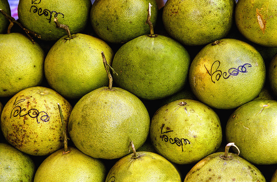 Color Photograph - Limes by Jean Noren