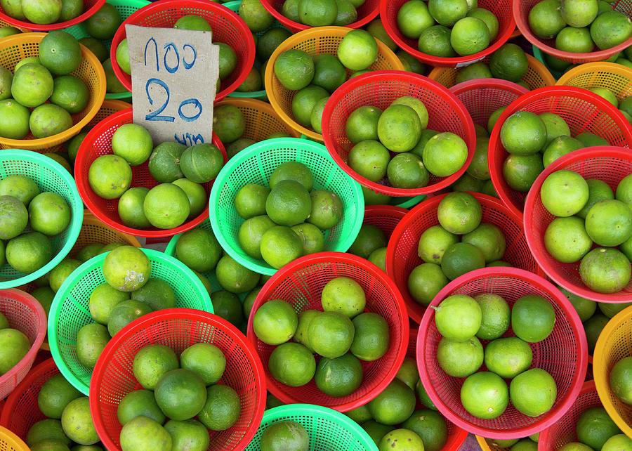 Limes Photograph by Richard Friend