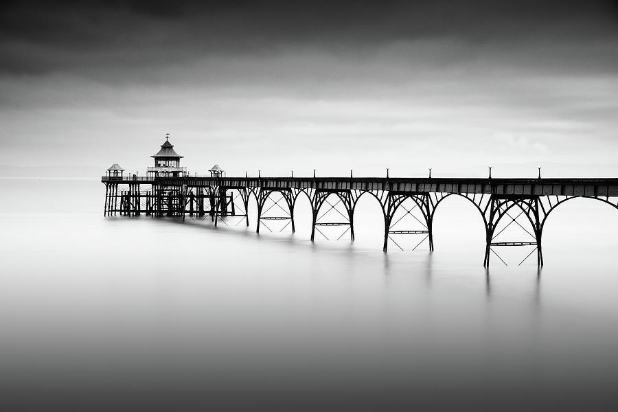 Pier Photograph - Liminal Land by Robert Bolton