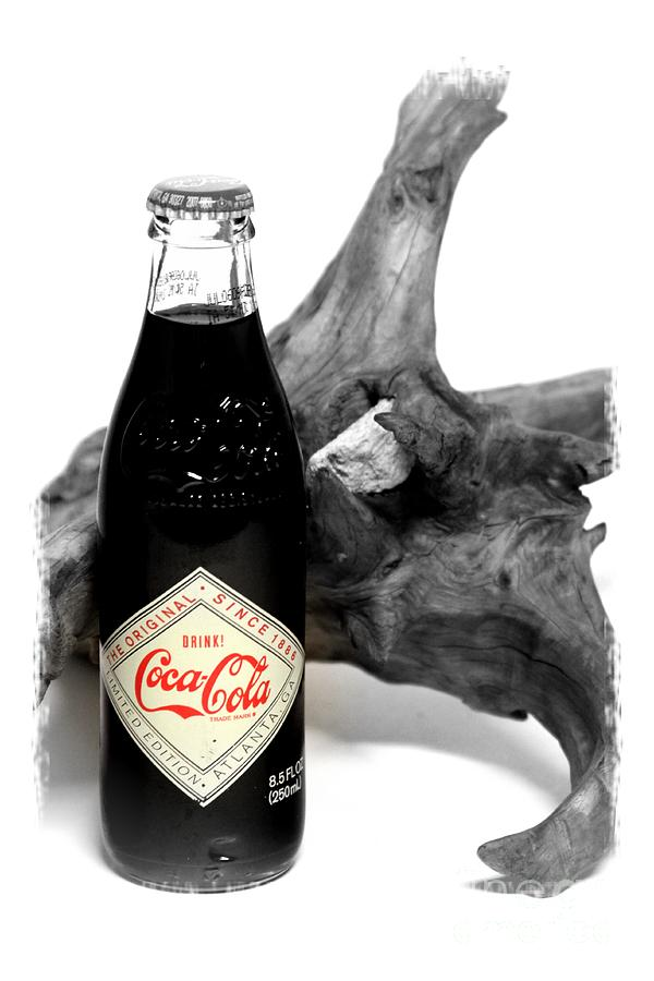 Limited Edition Bottles Photograph - Limited Edition Coke - No.438 by Joe Finney
