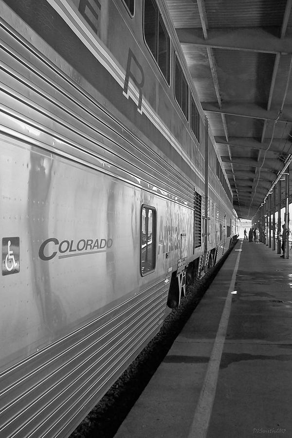Train Photograph - Limited Layover by Deborah Smith