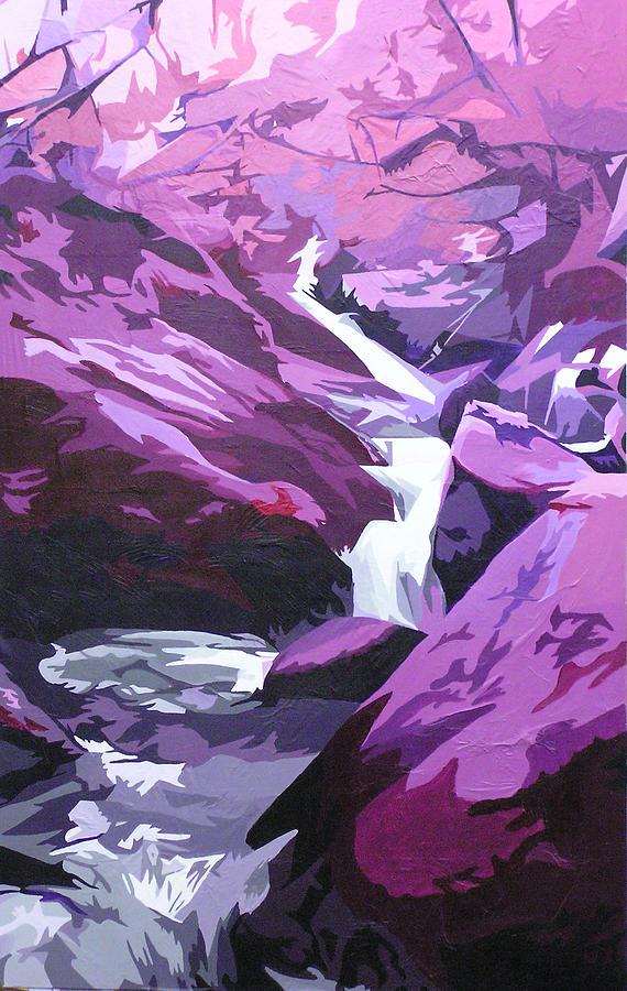 Creek Painting - Limpy Creek by Joshua Morton