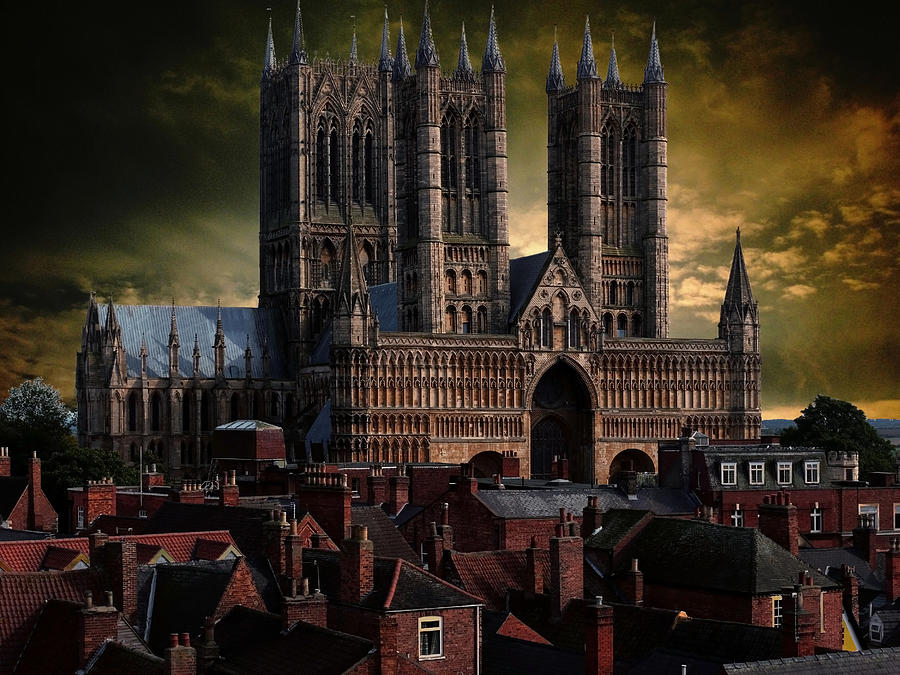 Lincoln Cathedral Photograph - Lincoln Cathedral by Martin Billings