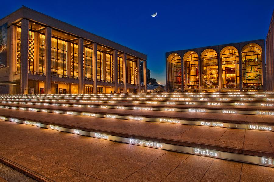 Lincoln Photograph - Lincoln Center by Susan Candelario