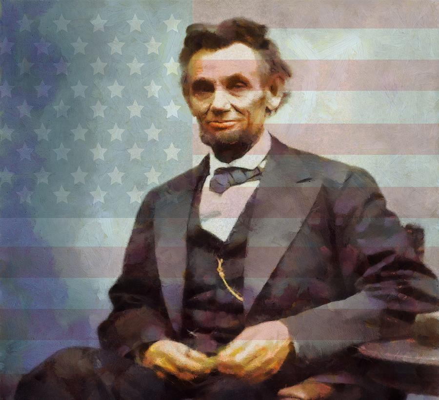 Lincoln Painting - Lincoln by Dan Sproul