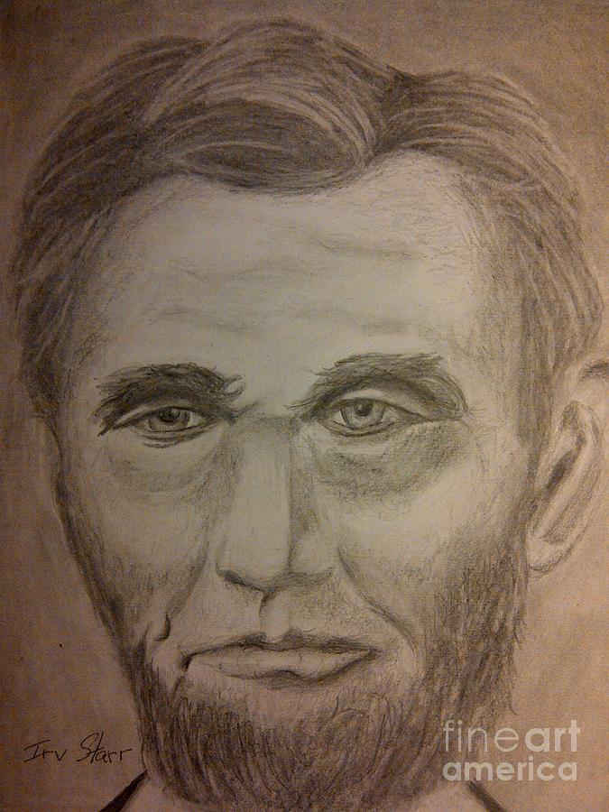 Lincoln Drawing by Irving Starr