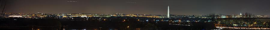 Abe Photograph - Lincoln Memorial And Washington Monument - Washington Dc - 01131 by DC Photographer