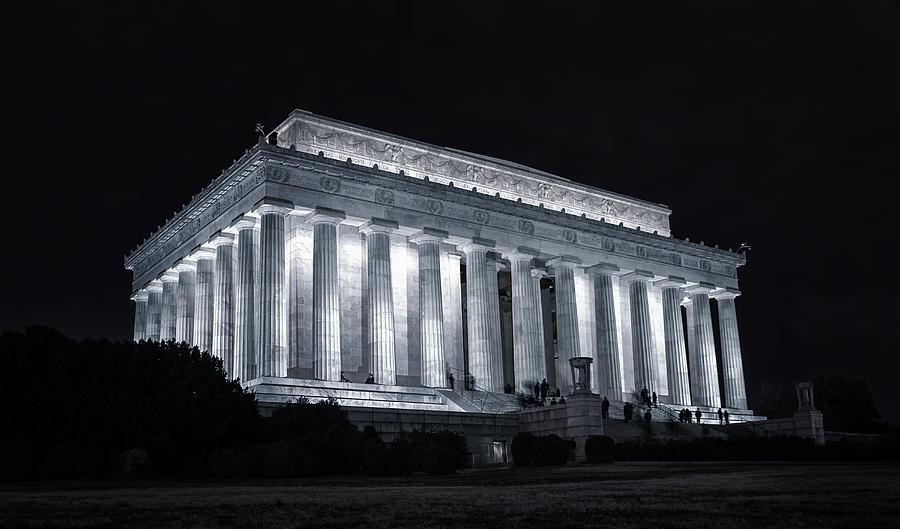 Memorial Photograph - Lincoln Memorial by Joan Carroll