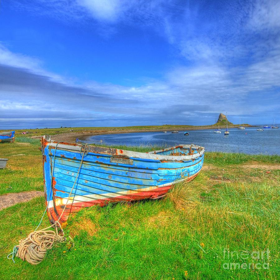 Boat Photograph - Lindisfarne By The Sea by John Kelly