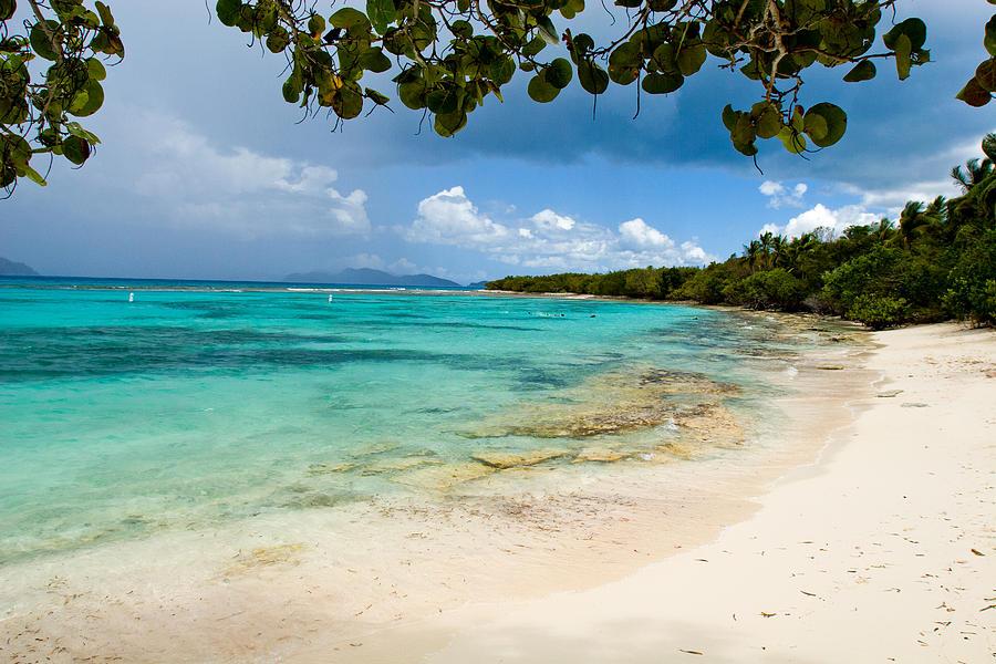 Caribbean Island Photograph - Lindquist Beach by Lisa Chorny