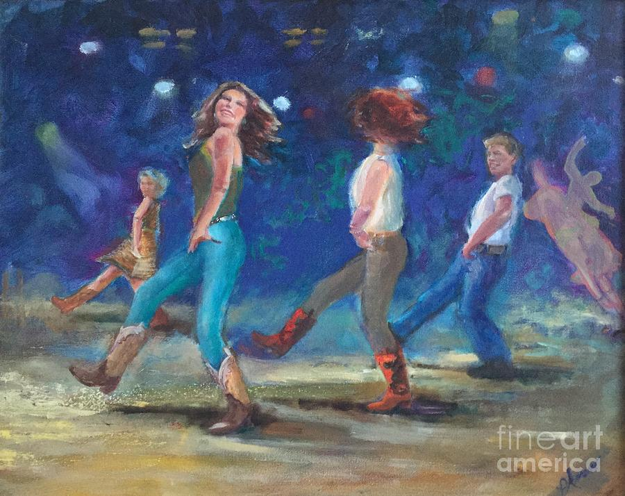 dancing boots  by Patricia Amen