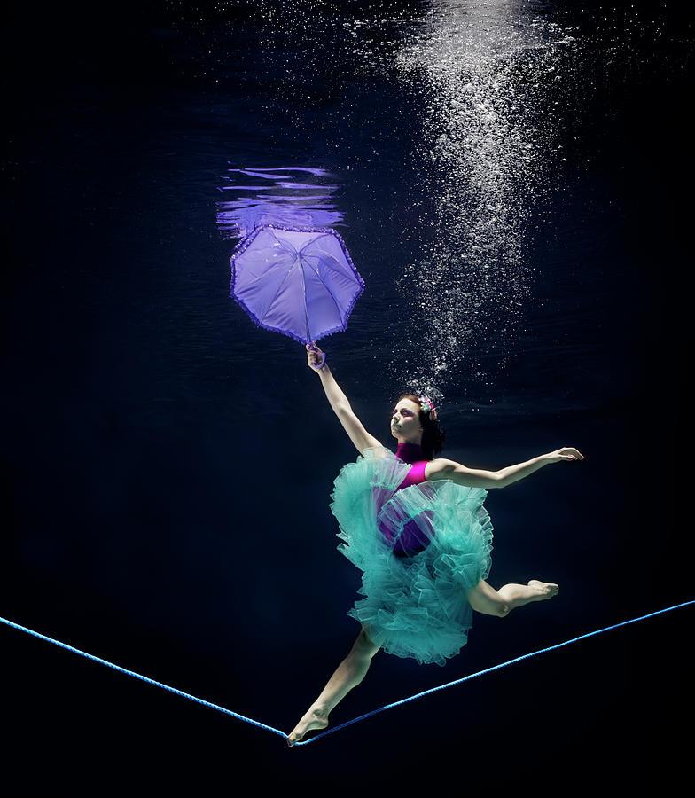 Line Dancer Underwater Photograph by Henrik Sorensen