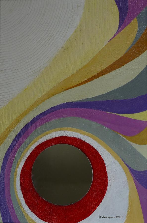 Colors Painting - Lines And Curves And Colors by Hemu Aggarwal