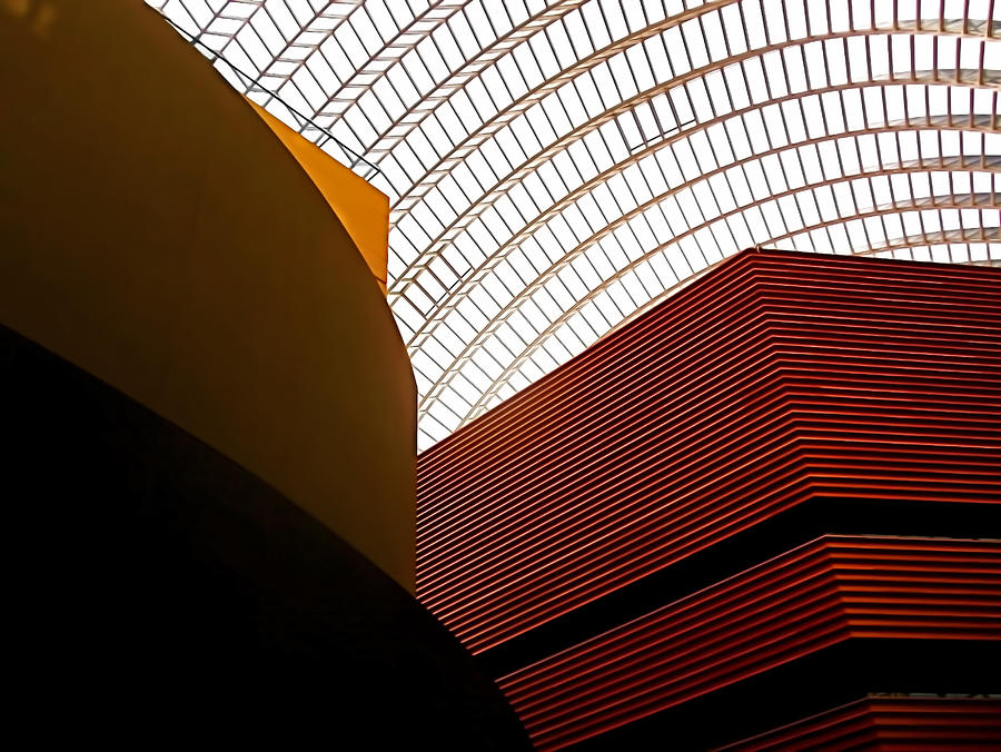 Architecture Photograph - Lines And Light by Rona Black