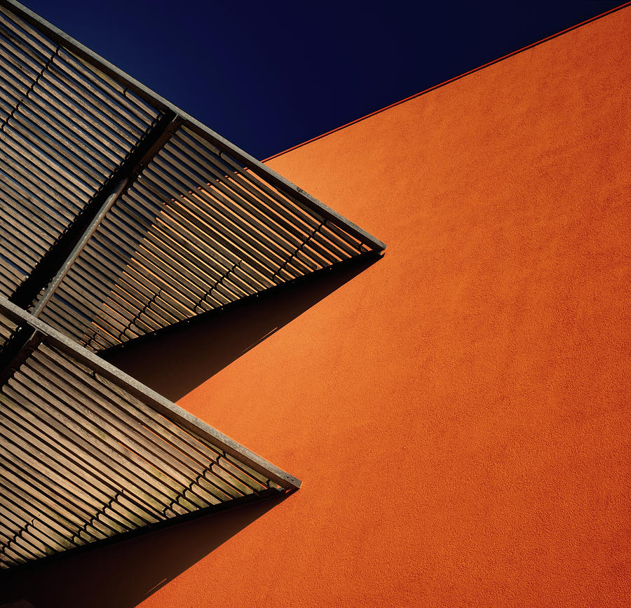 Abstract Photograph - Lines And Shadows. by Harry Verschelden