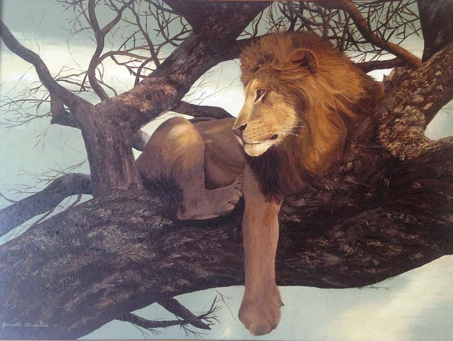 Lion by Jeannette Tramontano