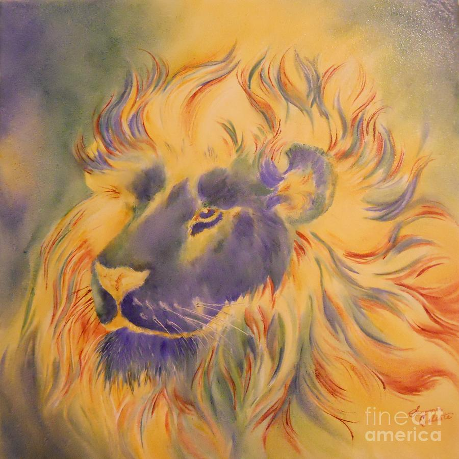Lion Of Another Color by Summer Celeste