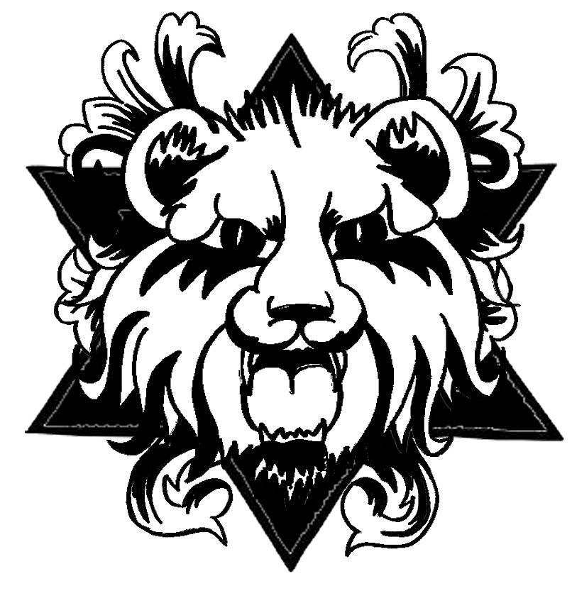 Barham Drawing - Lion Of Judah by Marvin Barham