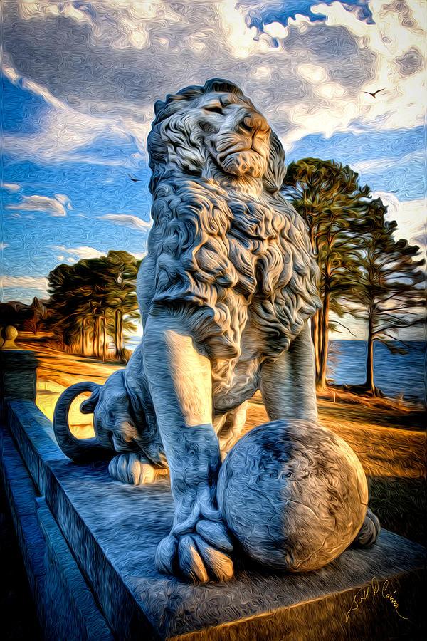 Lions Bridge Photograph by Williams-Cairns Photography LLC