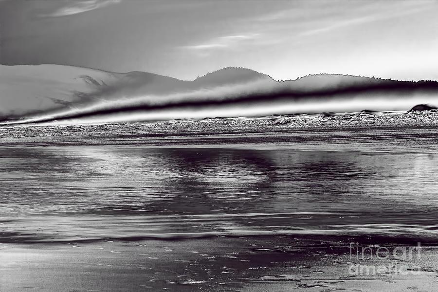 Pacific Ocean Photograph - Liquid Metal by Jon Burch Photography