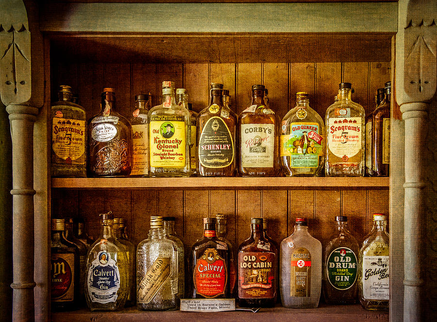 Liquor Photograph   Liquor Cabinet By Paul Freidlund