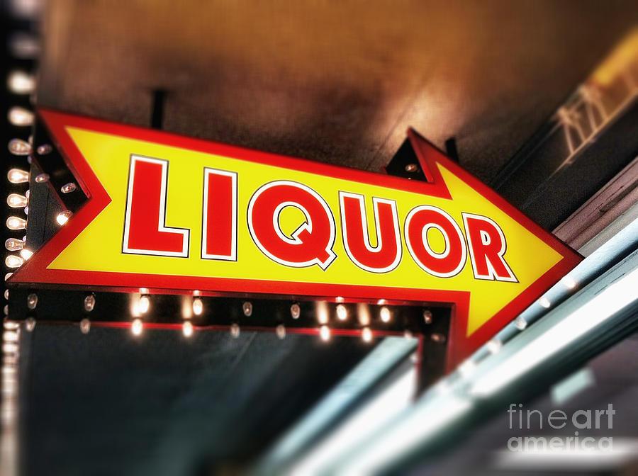 Las Vegas Liquor Store Sign by Bryan Mullennix