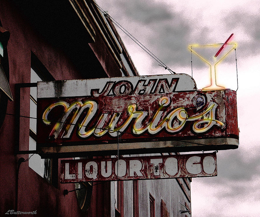 San Francisco Photograph - Liquor To Go by Larry Butterworth