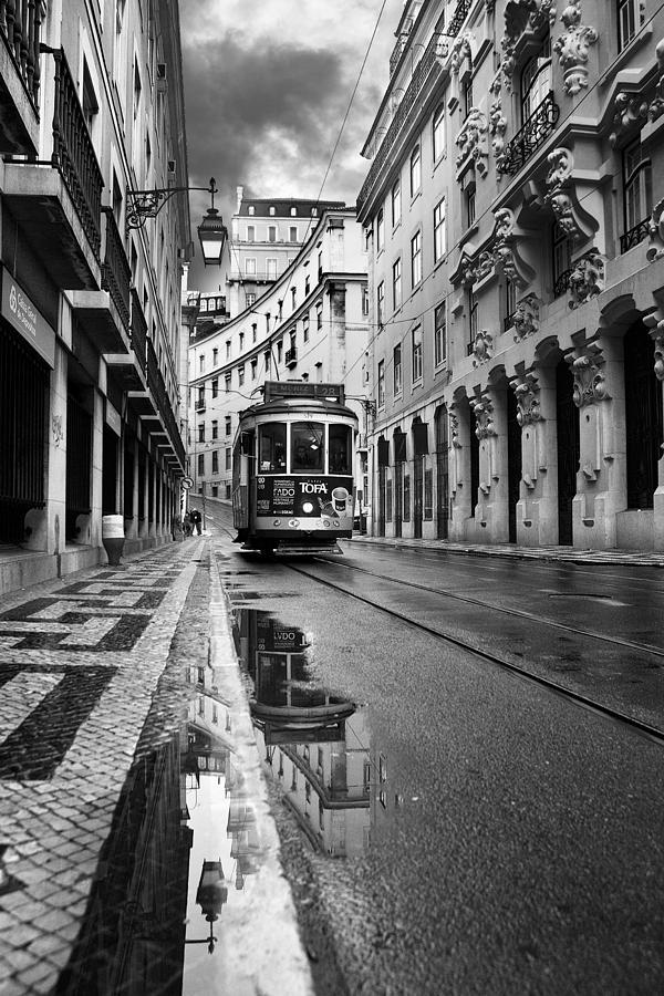 Lisbon Photograph - Lisbon by Jorge Maia