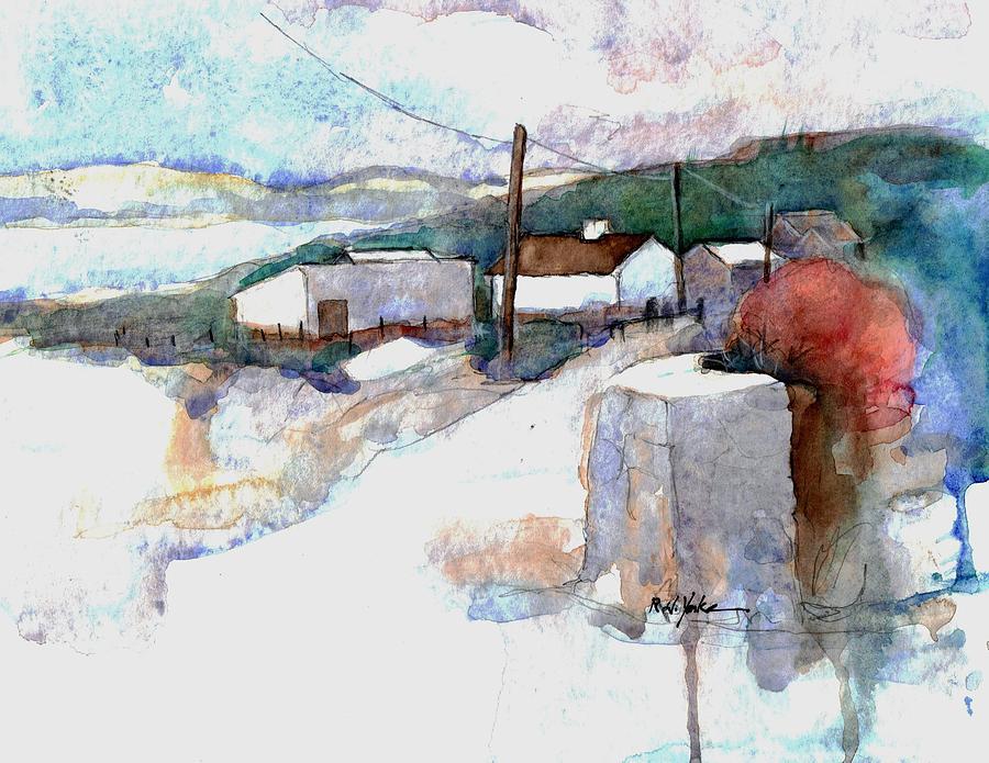 Lisdoonvarna Painting - Road to Lisdoonvarna by Robert Yonke