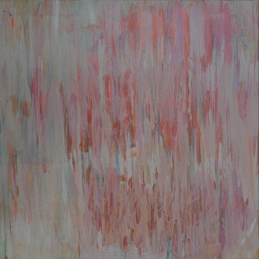 Abstract Painting - Listen by Molly Benson