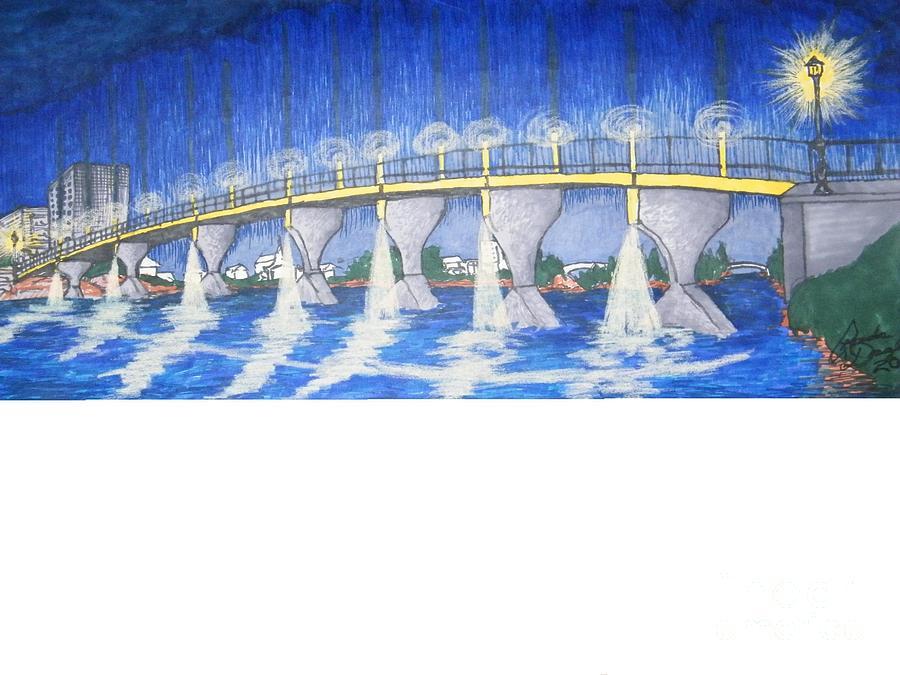 Lit Bridge by Ronda Douglas