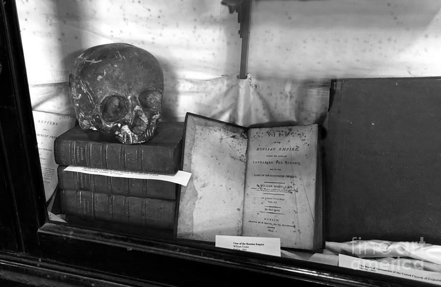 Literary Skull Photograph