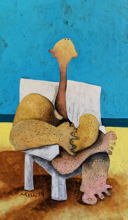 Cubist Painting - Litore No. 3  by Mark M  Mellon