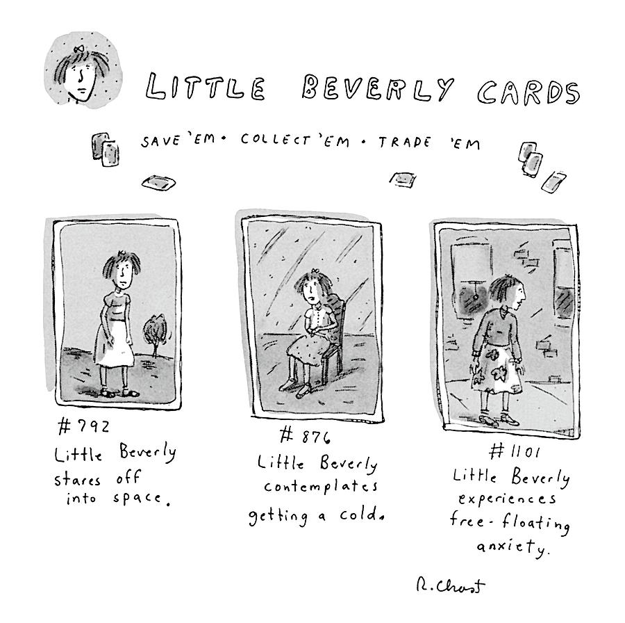 Little beverly cards save 39 em collect 39 em trade drawing Collect and save