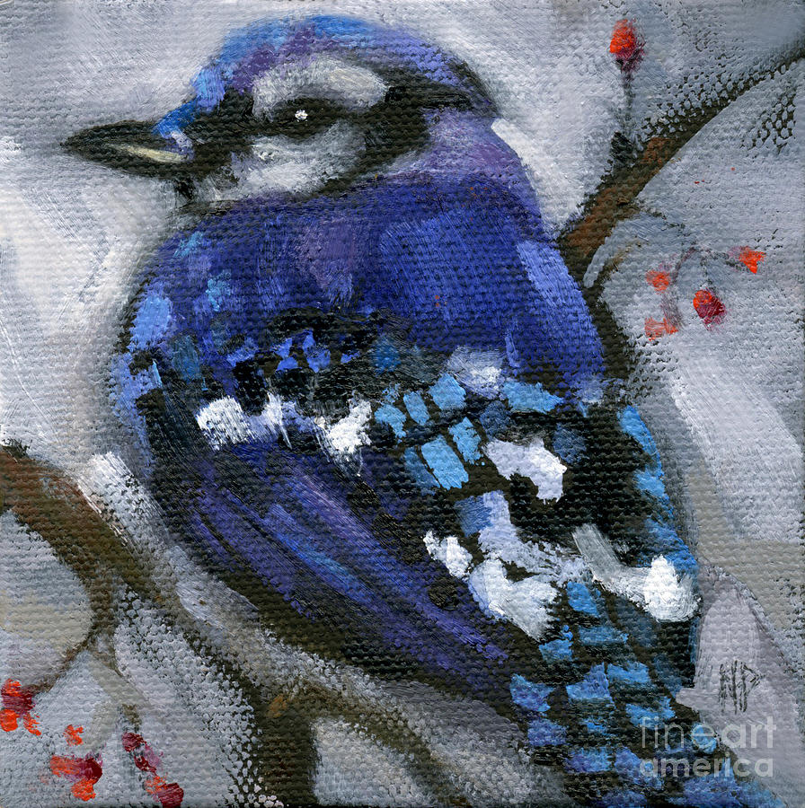 SOLD Little Bird Come Sit Upon My Window Sill by Nancy  Parsons