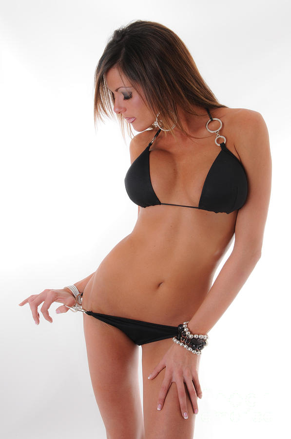 9a869eae3896f Little Black Bikini 3 Photograph by Jt PhotoDesign