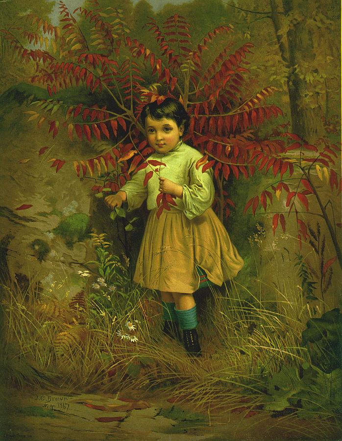 Little Bo Peep 1867 Digital Art - Little Bo Peep 1867 by JG Brown