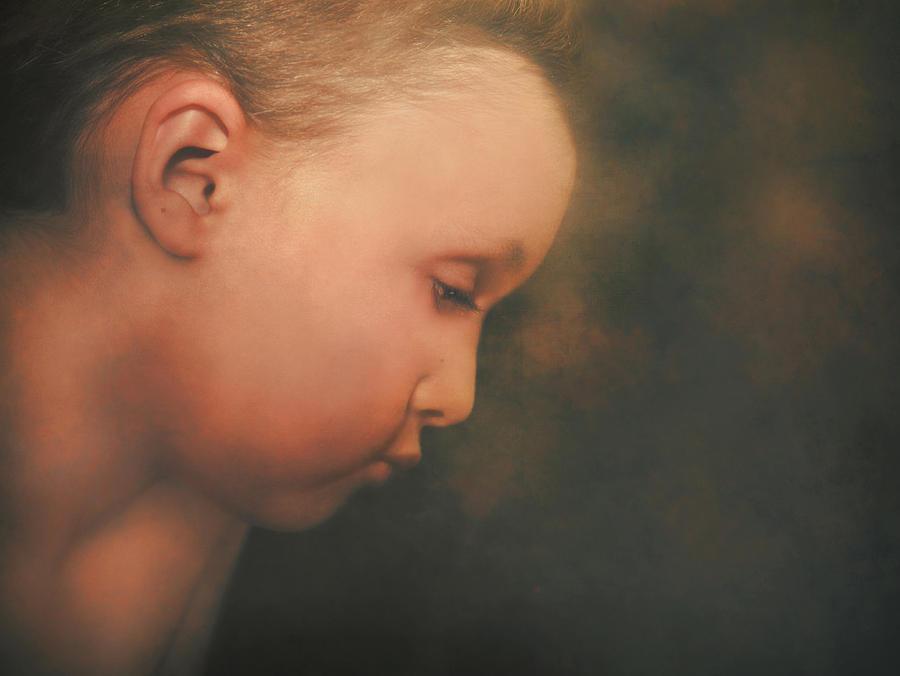 Children Photograph - Little Boy Dreams by Pat Abbott