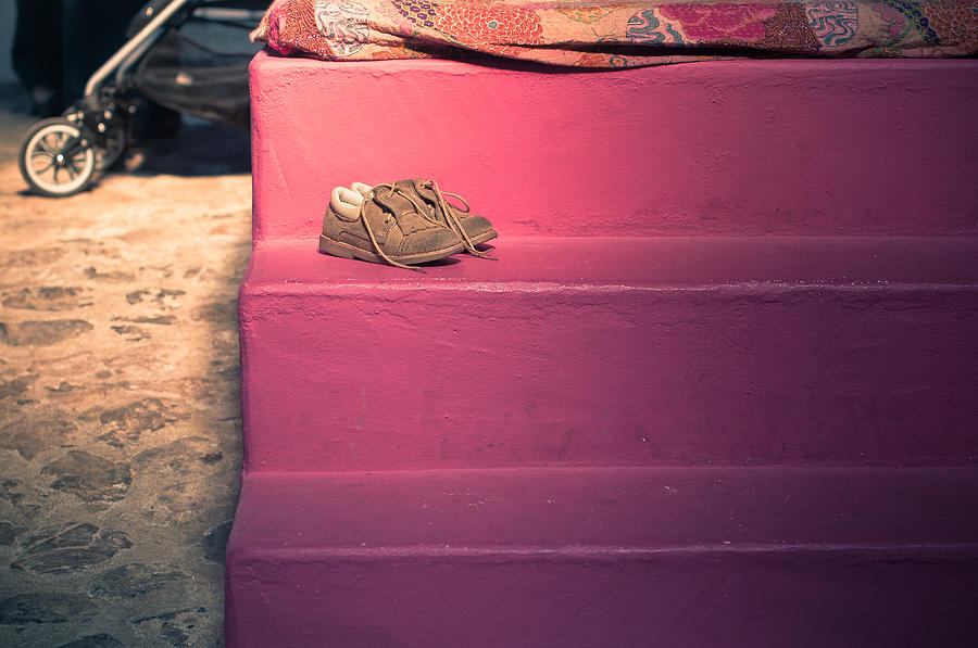 Pair Photograph - Little Cinderella Shoes by Georgina Noronha