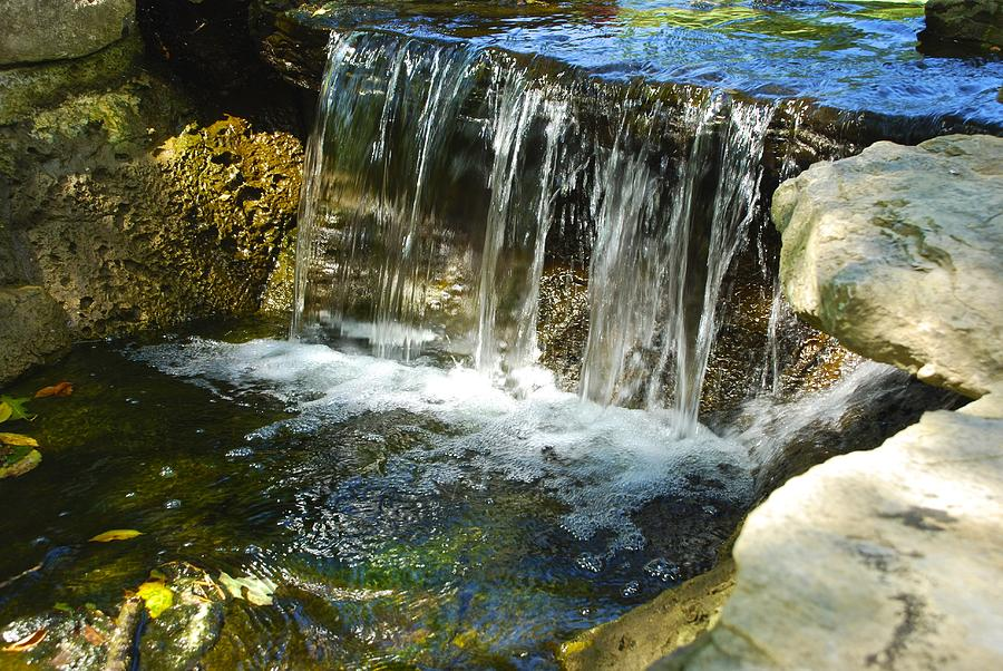 Water Photograph - Little Falls 3 by Charlie Brock