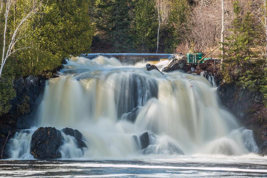Waterfalls Photograph - Little Falls Atikokan by Linda Ryma