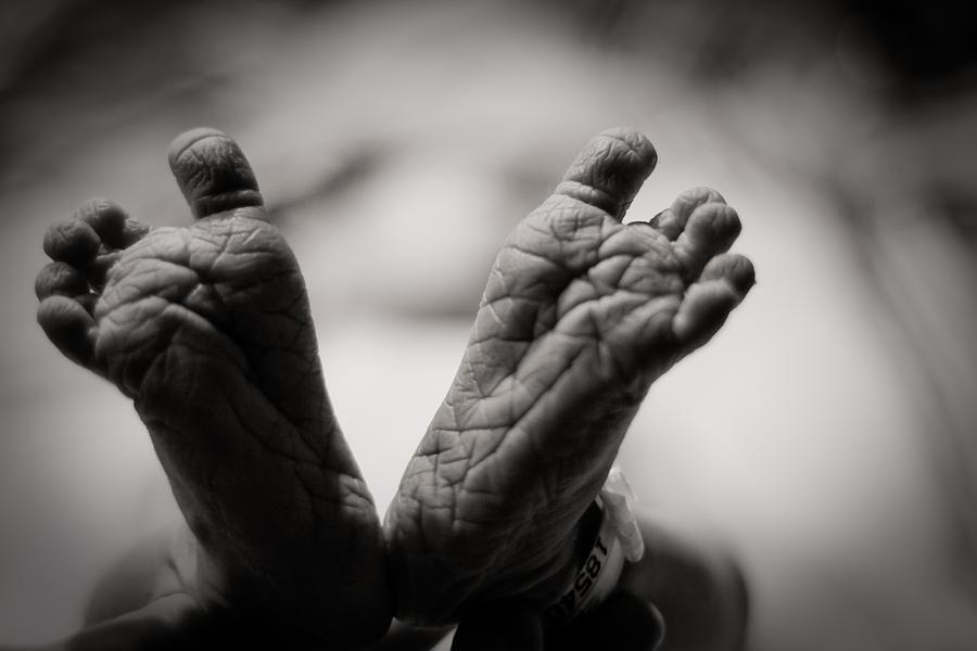 3scape Photos Photograph - Little Feet by Adam Romanowicz