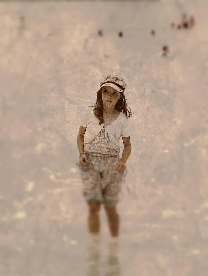 Little Photograph - Little Giril by Girish J