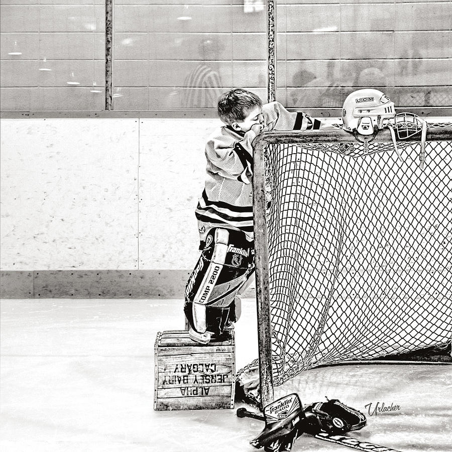 Little Goalie Jordee by Elizabeth Urlacher