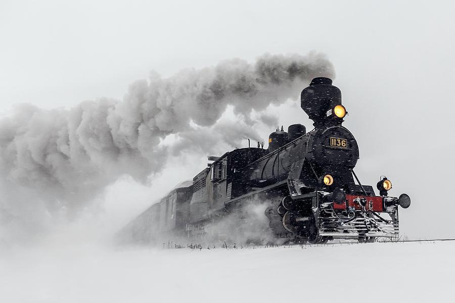 Train Photograph - Little-jumbo by