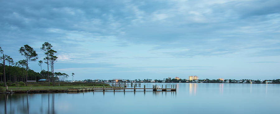 Little Lagoon Pano Photograph by W. Drew Senter, Longleaf Photography