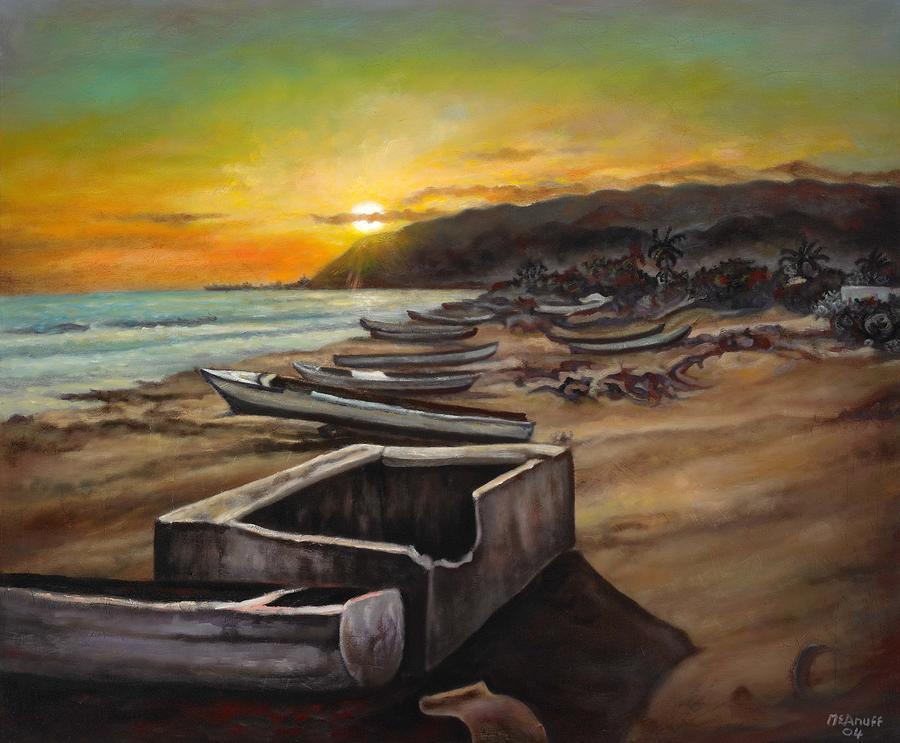 Sea Food Painting - Little Ochie by Ewan  McAnuff